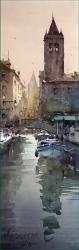 dusan-djukaric-campo-san-barnaba-venice-17x55-cm-gallery