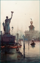 dusan-djukaric-charm-of-venice-2-watercolor-31x49-cm