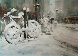 dusan-djukaric-forgotten-watercolor-54x74-cm