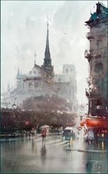 dusan-djukaric-notre-dame-paris-watercolor-35x56-cm-gallery