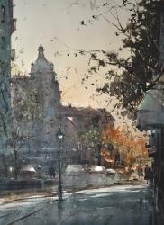 dusan-djukaric-one-day-in-decembar-watercolor-74x54-cm