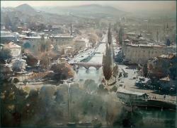 dusan-djukaric-sarajevo-watercolor-54x74-cm-jpg