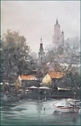dusan-djukaric-sharm-of-zemun-watercolor-35x56-cm