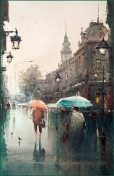 dusan-djukaric-spring-rain-watercolor-36x55-cm