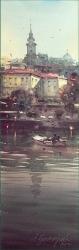 dusan-djukaric-view-from-sava-watercolor-17x55-cm