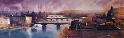dusan-djukaric-watercolor-bridqe-of-praque101x33-cm-gallery