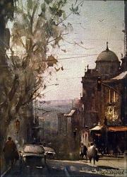 dusan-djukaric-watercolor-pop-lukina-beograd-28x38-cm