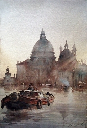 dusan-djukaric-watercolor-venice-38x56-cm