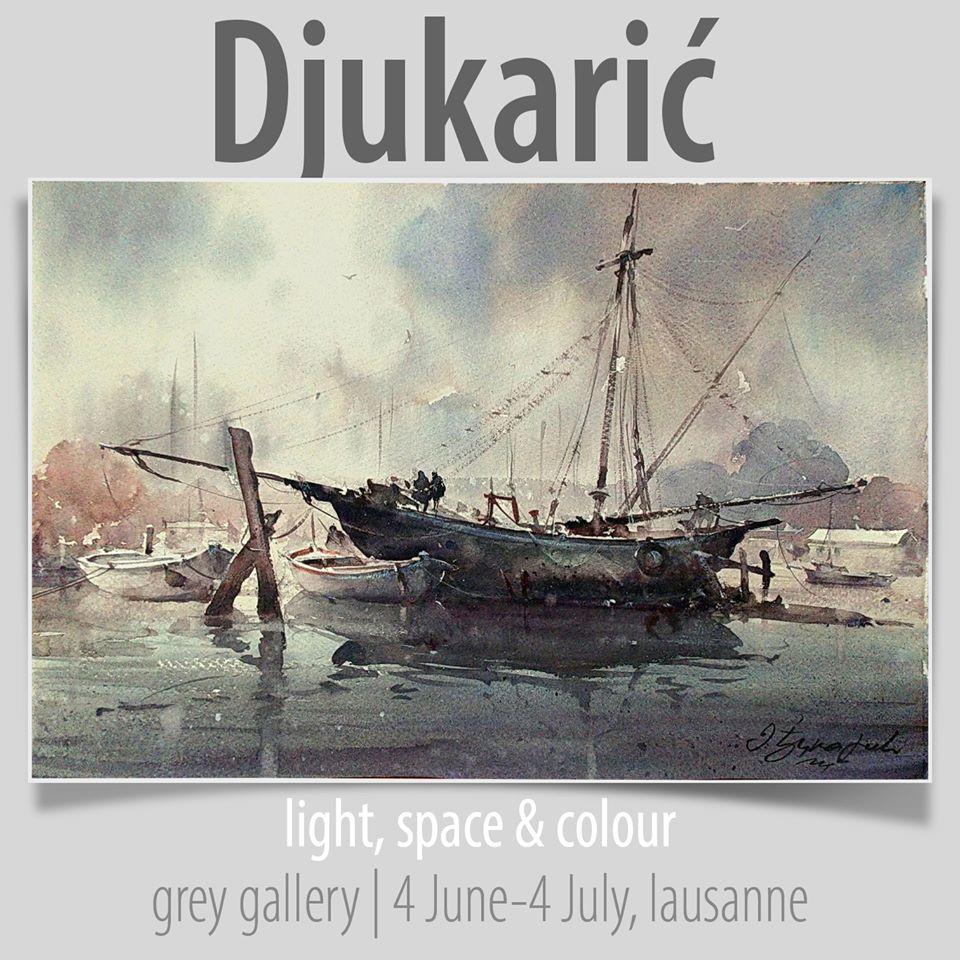 Dusan Djukaric, grey gallery