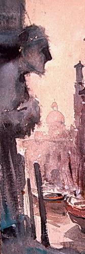 Dusan Djukaric, Akvarel, Statua