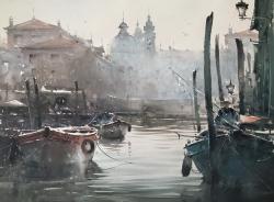 canal-in-venice-watercolor-54x74-cm-artist-dusan-djukaric