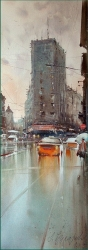 dusan-djukaric-after-rain-palace-albania-watercolor26x75-cm-gallery