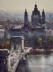 dusan-djukaric-beautiful-budapest-watercolor-74x54-cm-gallery