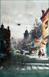 dusan-djukaric-bezanijska-street-zemun-watercolor-35x55-cm-gallery
