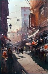 dusan-djukaric-corfu-watercolor-37x56-cm