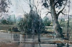 dusan-djukaric-landscape-53x34-cm-watercolor