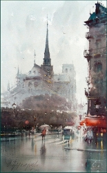dusan-djukaric-notre-dame-paris-watercolor-35x56-cm-gallery