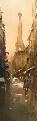 dusan-djukaric-rue-saint-dominique-watercolor-17x55-cm-gallery