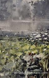 dusan-djukaric-swamp-watercoor-54x34-cm