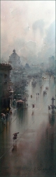 dusan-djukaric-view-on-boulevard-101x33-cm