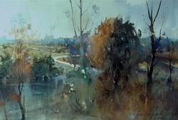 dusan-djukaric-watercolor-landscape-38x56-cm