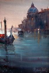 dusan-djukaric-watercolor-santa-maria-della-salute-38x56-cm
