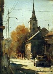 dusan-djukaric-watercolor-vrsac-21x30-cm