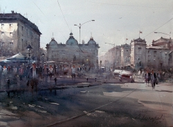 dusan-djukaric-we-are-going-on-the-square-54x74-cm