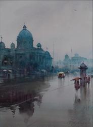 dusan-djukaricparliament-serbia-watercolor-54x74-cm