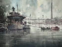 dusan-djukaric-cukaricki-canal-akvarel-74x54-cm