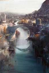 dusan-djukaric-mostar-akvarel-38x56-cm-gallery