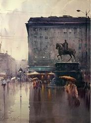 dusan-djukaric-watercolor-56x76-cm-and-im-waiting-im-waiting-at