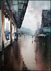 dusan-djukaric-watercolor-reflection-54x74-cm