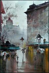 dusan-djukaric-you-wait-me-at-watercolor-36x55-cm