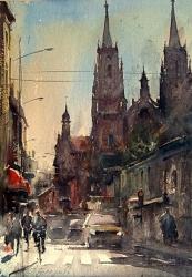 dusan-watercolor-vrsac-30x43-cm