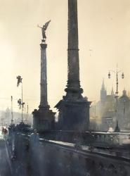 dusan-djukaric-cechuv-bridge-prague-watercolor-54x74-cm