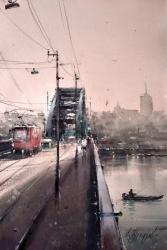dusan-djukaric-old-bridge-watercolor-36x55-cm