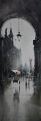 dusan-djukaric-view-trought-watercolor-27x75-cm