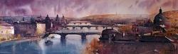 dusan-djukaric-watercolor-bridqe-of-praque101x33-cm-gallery